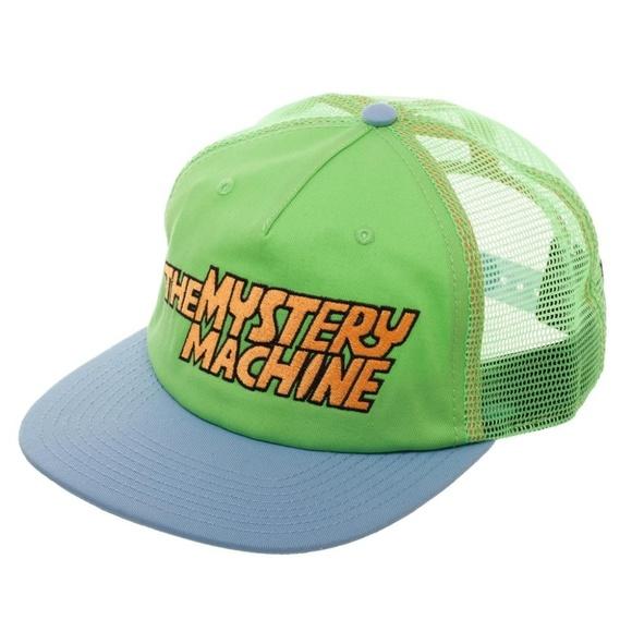 ba6f3385355 Scooby Doo The Mystery Machine Trucker Hat